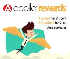Apollo rewards program